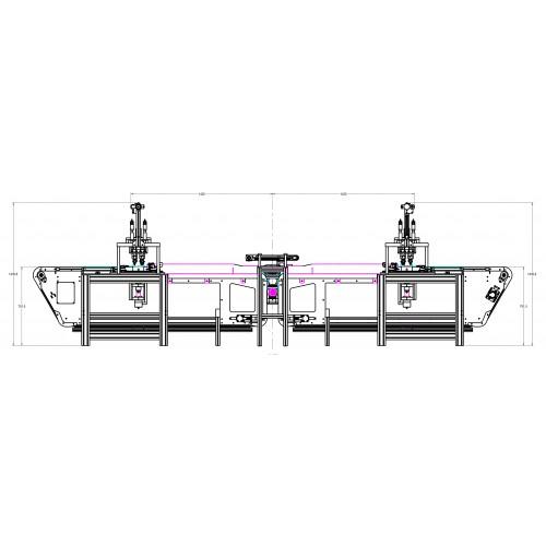Linie automata de productie masti medicale Made in Italy