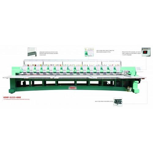 Masina de brodat cu 15 capete cu servomotor GEMF-S1215-4068