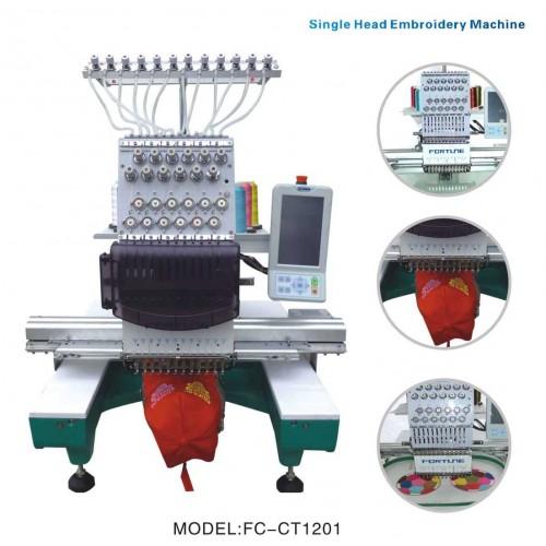 Masina de brodat un cap cu 12 ace pt sepci si tricouri FC-CT1201