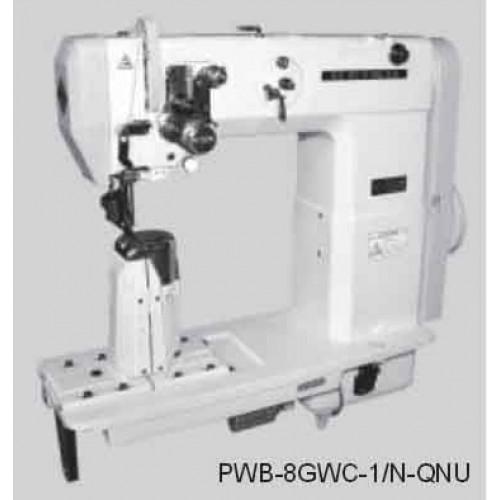 Masina coloana cu un ac, transport cu rola presoare PWB single needle series