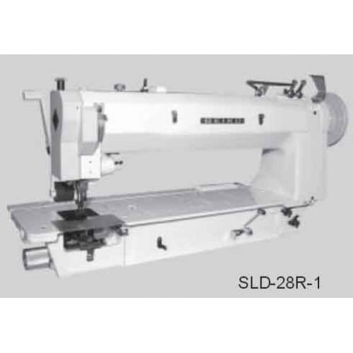 Masina plana cu 2, 3 sau 4 ace, triplu transport pentru pielarie SLD series