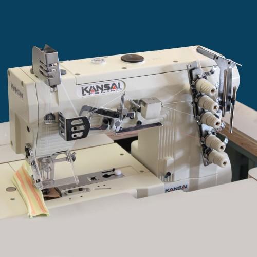 Masina de cusut cu dubla acoperire 3 ace 5 fire Kansai WX 8803D