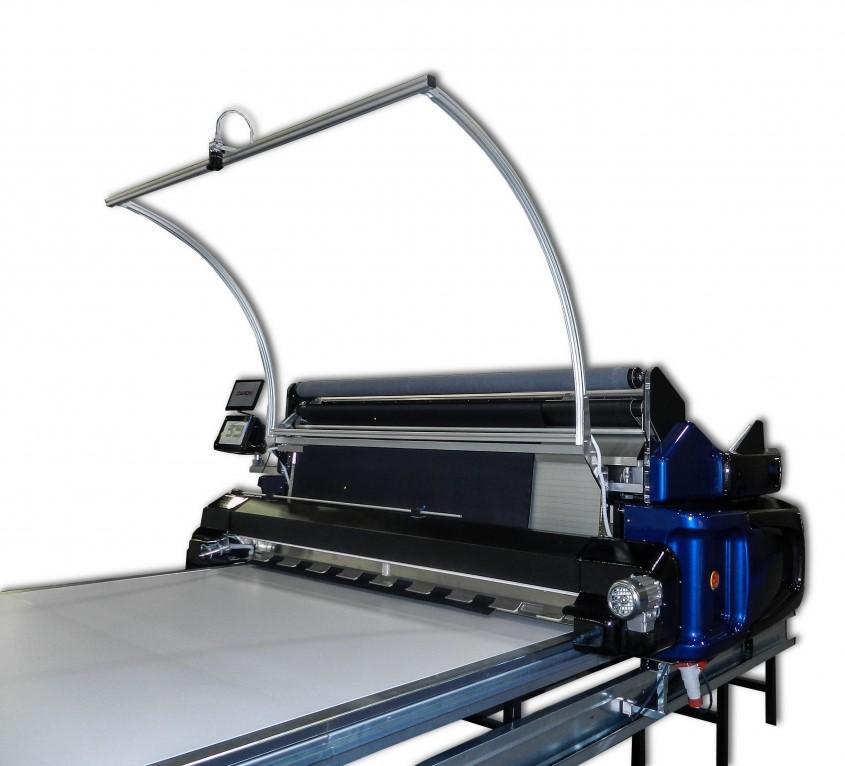 Caron Technology revoluționează sala de croit  cu noua mașină automata PUMA DD de spanuit  stofa .